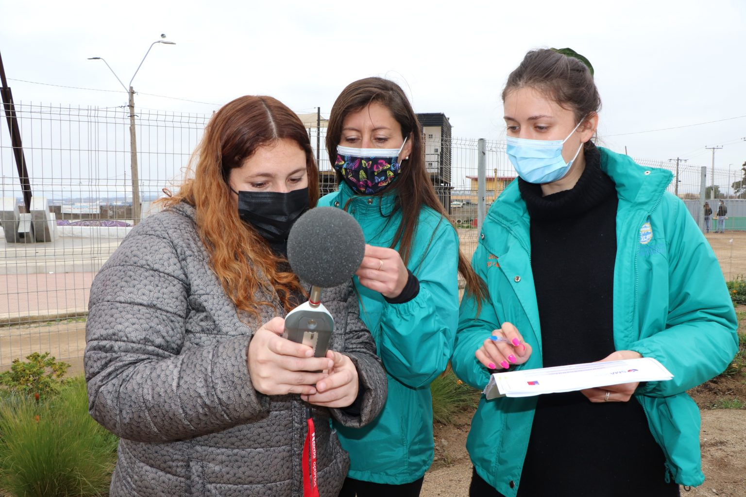 Funcionarios Municipales de Medio Ambiente se capacitan en medición de contaminación acústica en Quintero